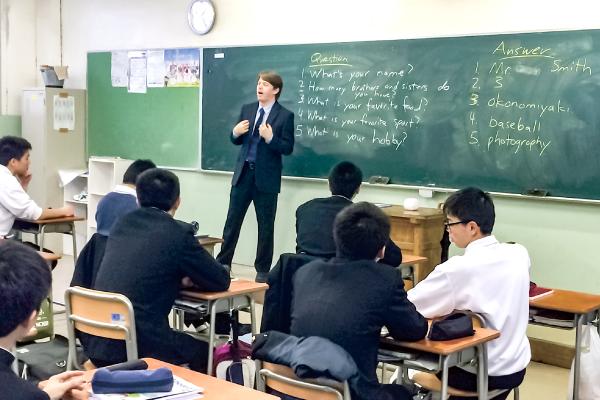 神戸村野工業高等学校 普通科の風景その2