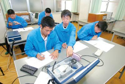 神戸村野工業高等学校 情報技術科紹介ページへ