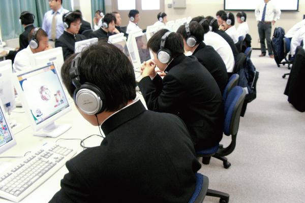 神戸村野工業高等学校のeラーニング、放課後補習「すらら」