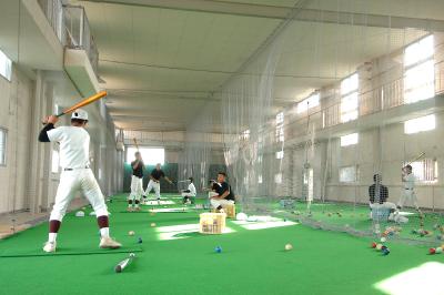 屋内練習室