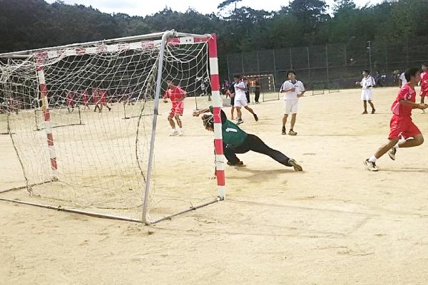 第67回神戸市総合体育大会兼 神戸市高等学校 秋季ハンドボール大会