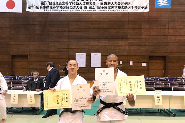 第67回兵庫県高等学校新人柔道大会