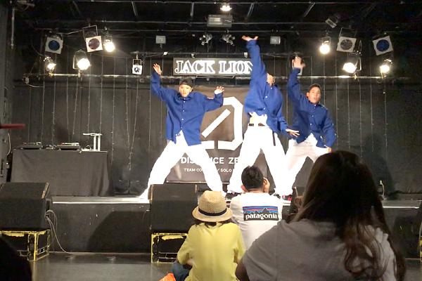 ダンス部 TEAM CONTEST & SOLO BATTLE-DISTANCE ZERO