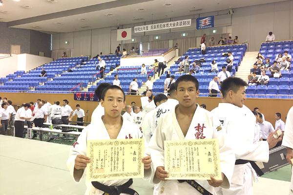 【柔道部】県民大会個人戦で3位入賞しました