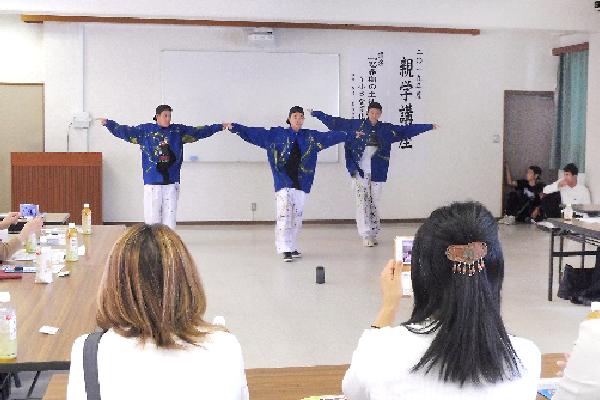 2019年度PTA交流会「ダンス部による演技」