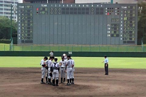 【軟式野球部】令和2年度夏期兵庫県高等学校軟式野球大会 結果