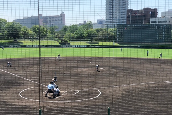 2021春季兵庫県高等学校軟式野球大会準優勝試合中
