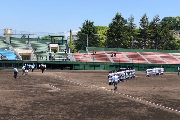 2021春季兵庫県高等学校軟式野球大会準優勝試合後の挨拶