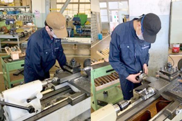【機械工作部】令和3年度 後期技能検定結果報告(機械加工普通旋盤作業3級、機械加工フライス盤作業3級)