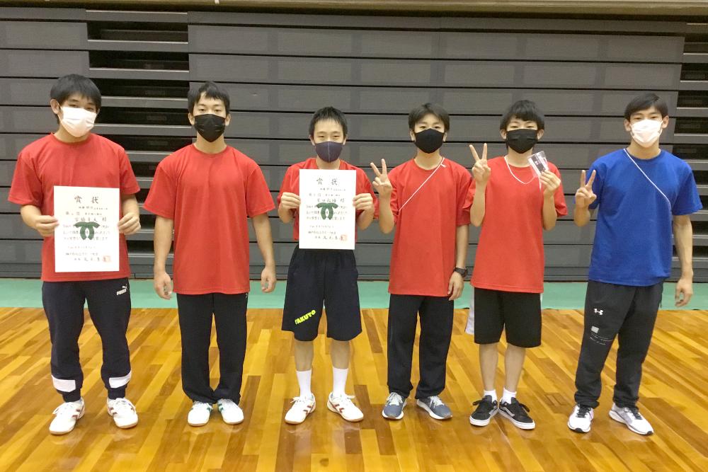 【体操競技部】令和3年度 神戸市総合スポーツ大会体操競技大会 結果